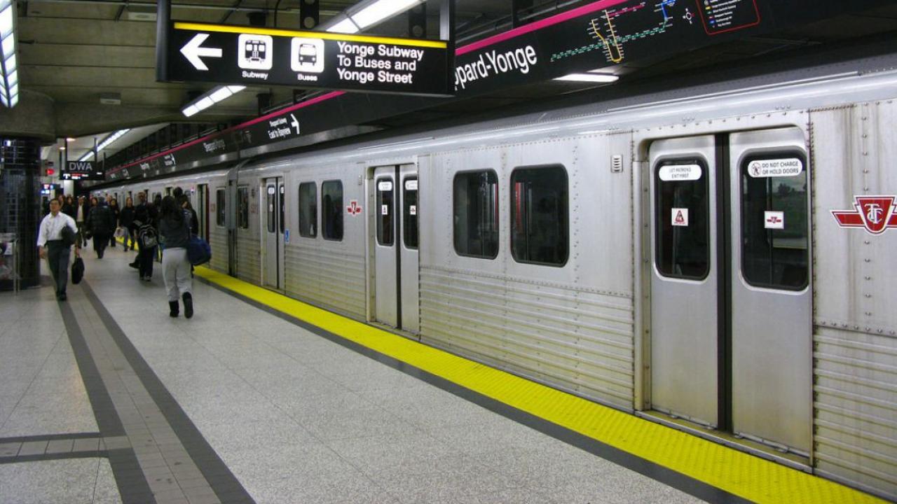 Subway for Scarborough Agincourt