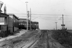 1928 Birchmount/Kingston Road, a privately owned radial streetcar